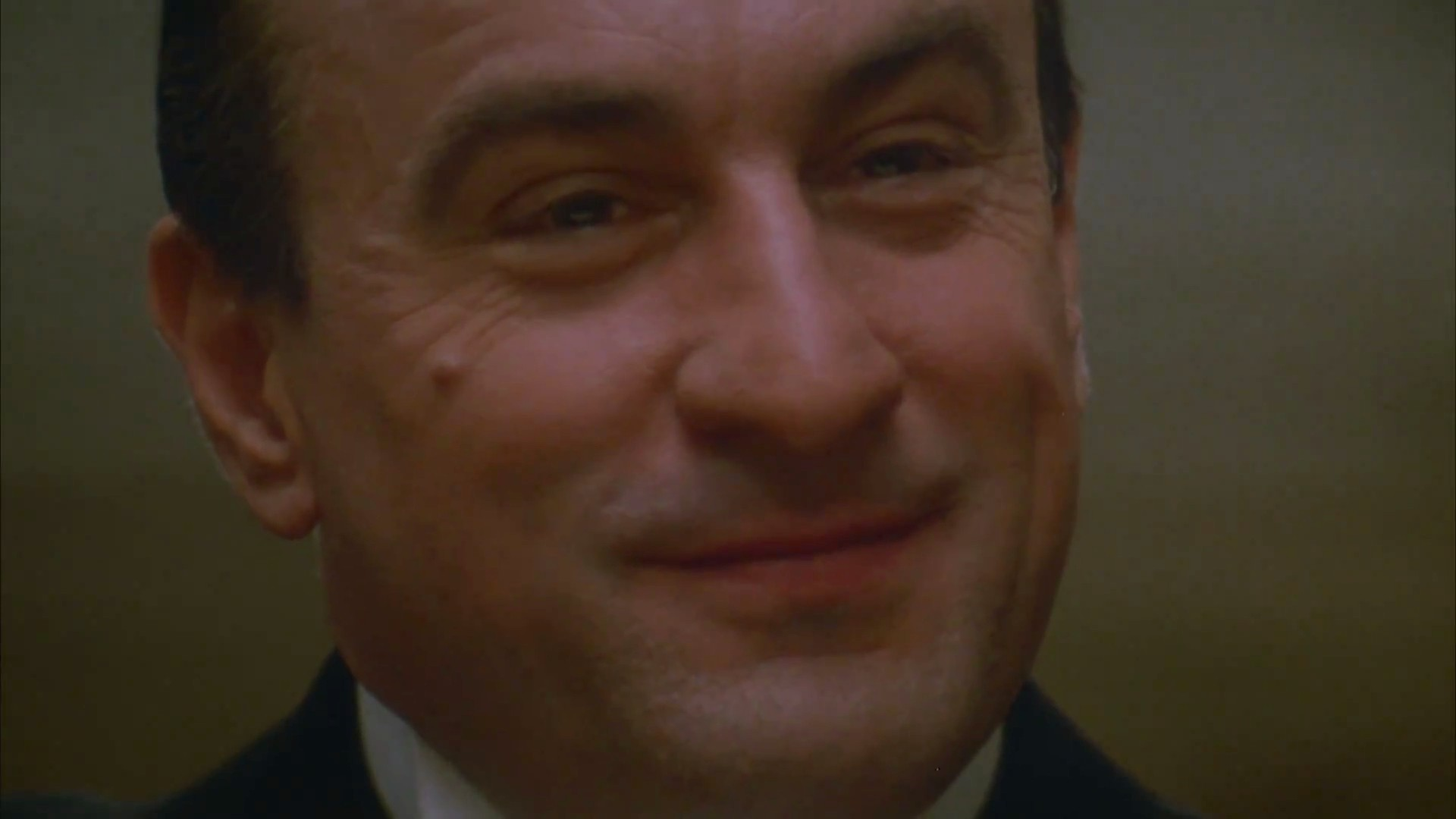 """Photo of Robert De Niro, portraying Al Capone from """"The Untouchables""""(1987). Source: The Official Trailer"""