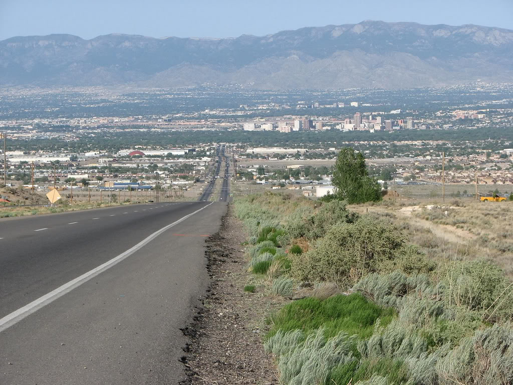 Albuquerque's Skyline..This is where ABQ beats Tucson