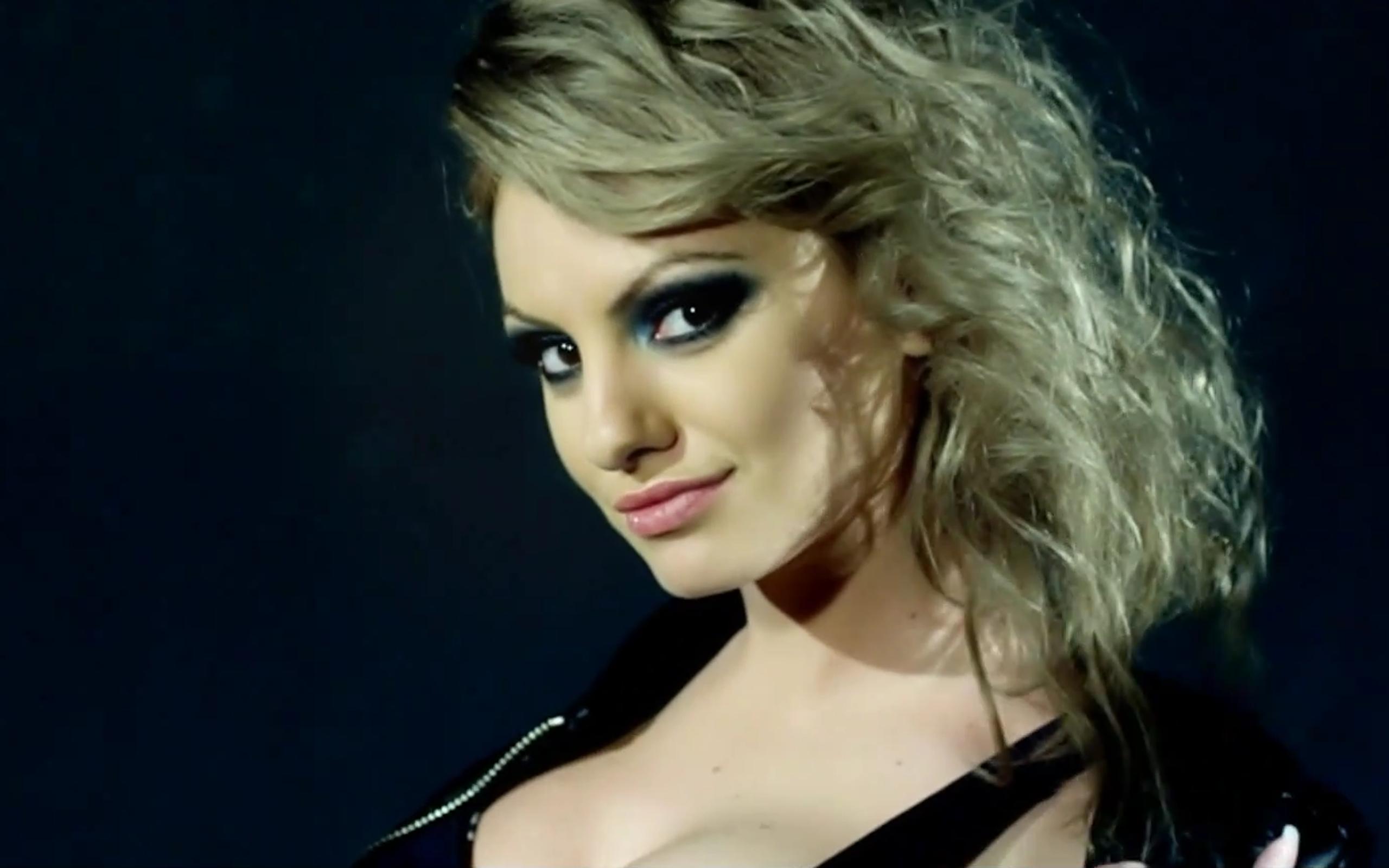 alexandra stan blonde beauty model wallpaper hd images
