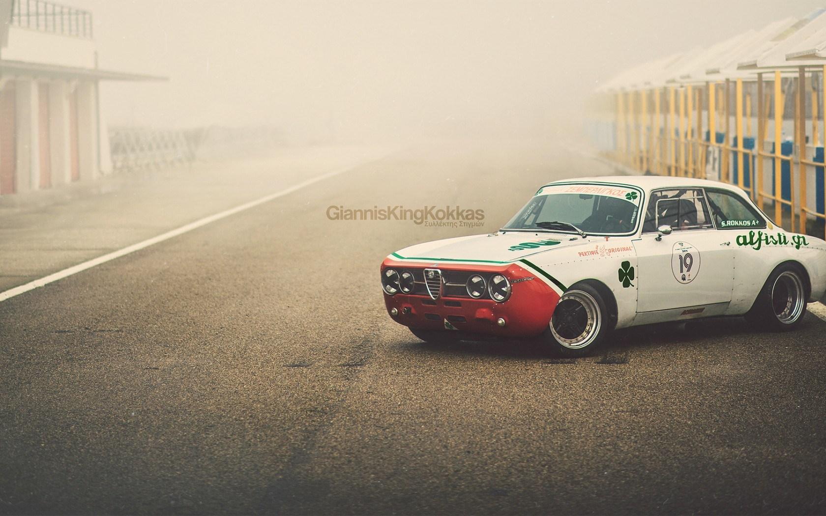 Alfa Romeo Giulia 1750 GTAm 1970 Retro Oldschool Racecar
