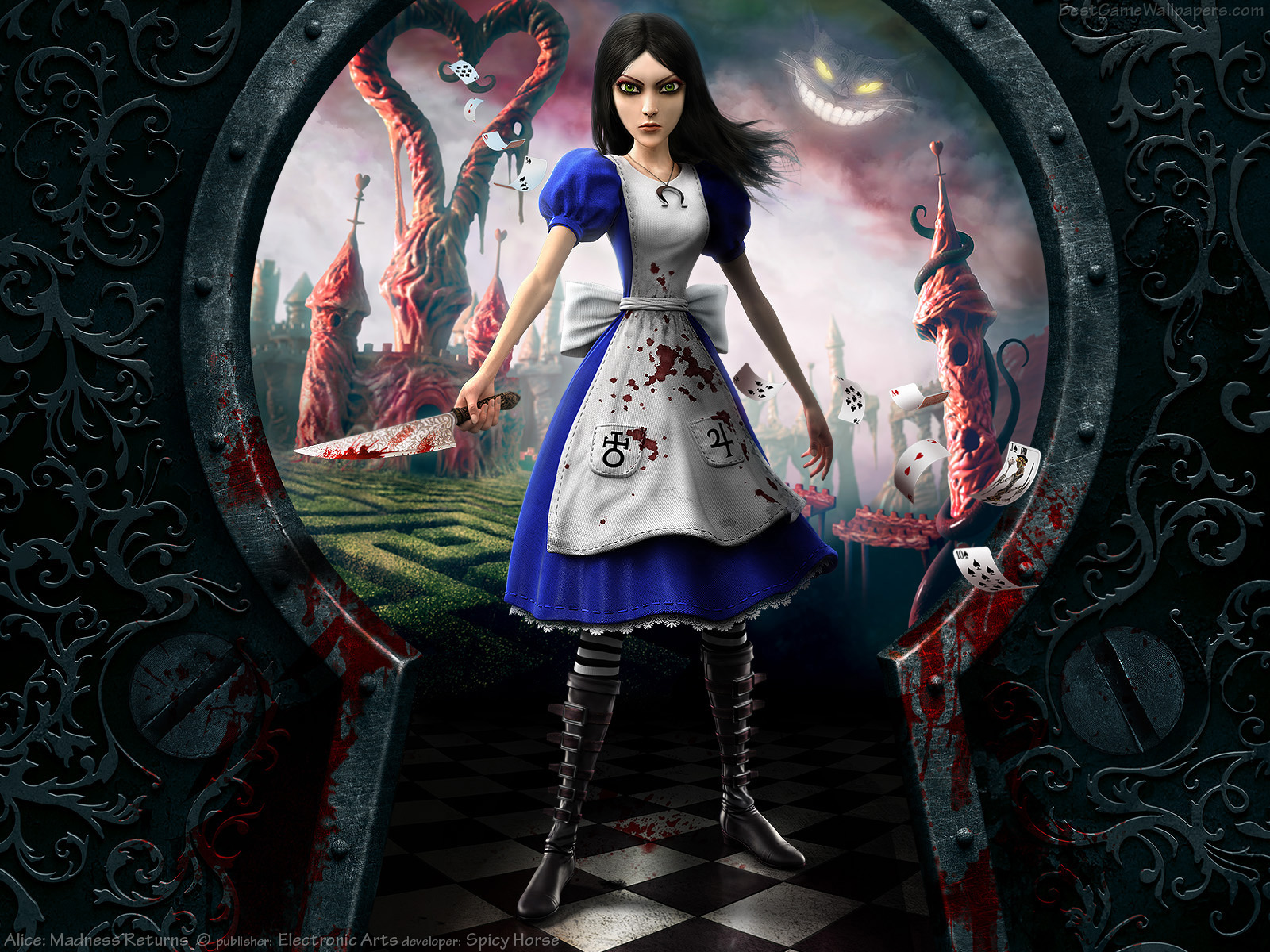 A few months ago, I started, played through and finished Alice Madness Returns, totally skipping the first part of the story that came out on pc years ago.