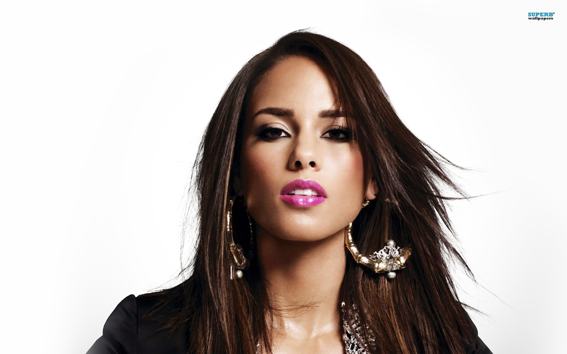 Please check our latest hd wallpaper widescreen below and bring beauty to your desktop. Alicia Keys Wallpaper