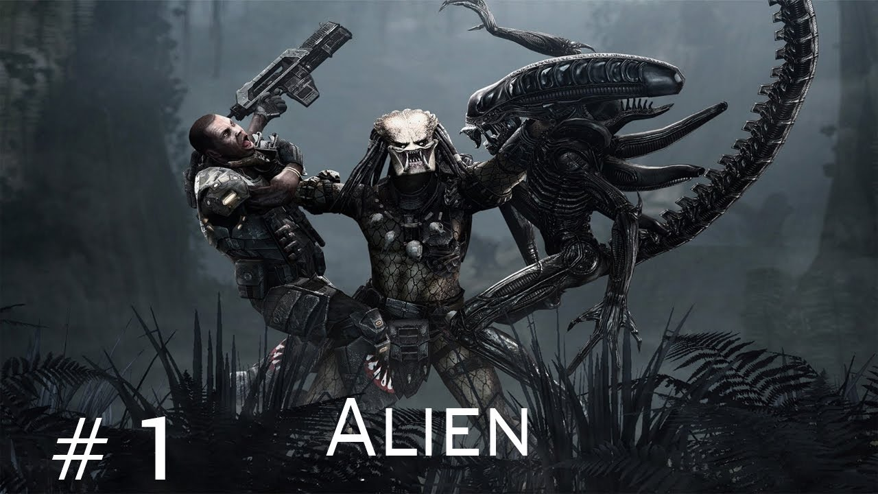 Aliens vs Predator - Walkthrough Alien Part 1