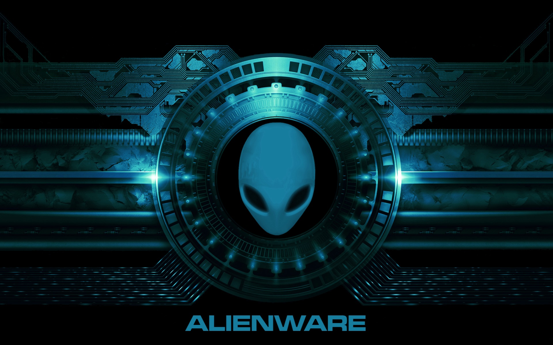 Alienware Wallpaper Blue - HD Wallpapers