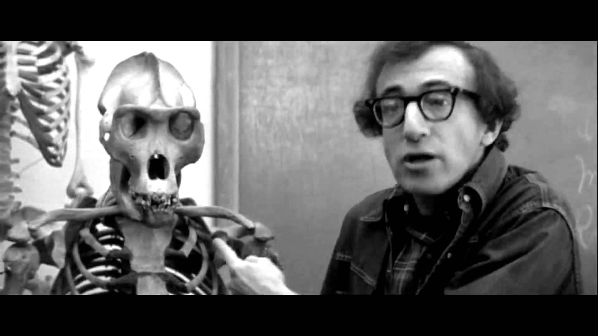 Woody Allen Skeleton Scene