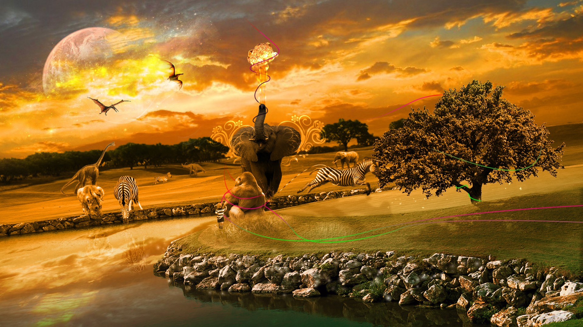 Amazing Africa Wallpaper