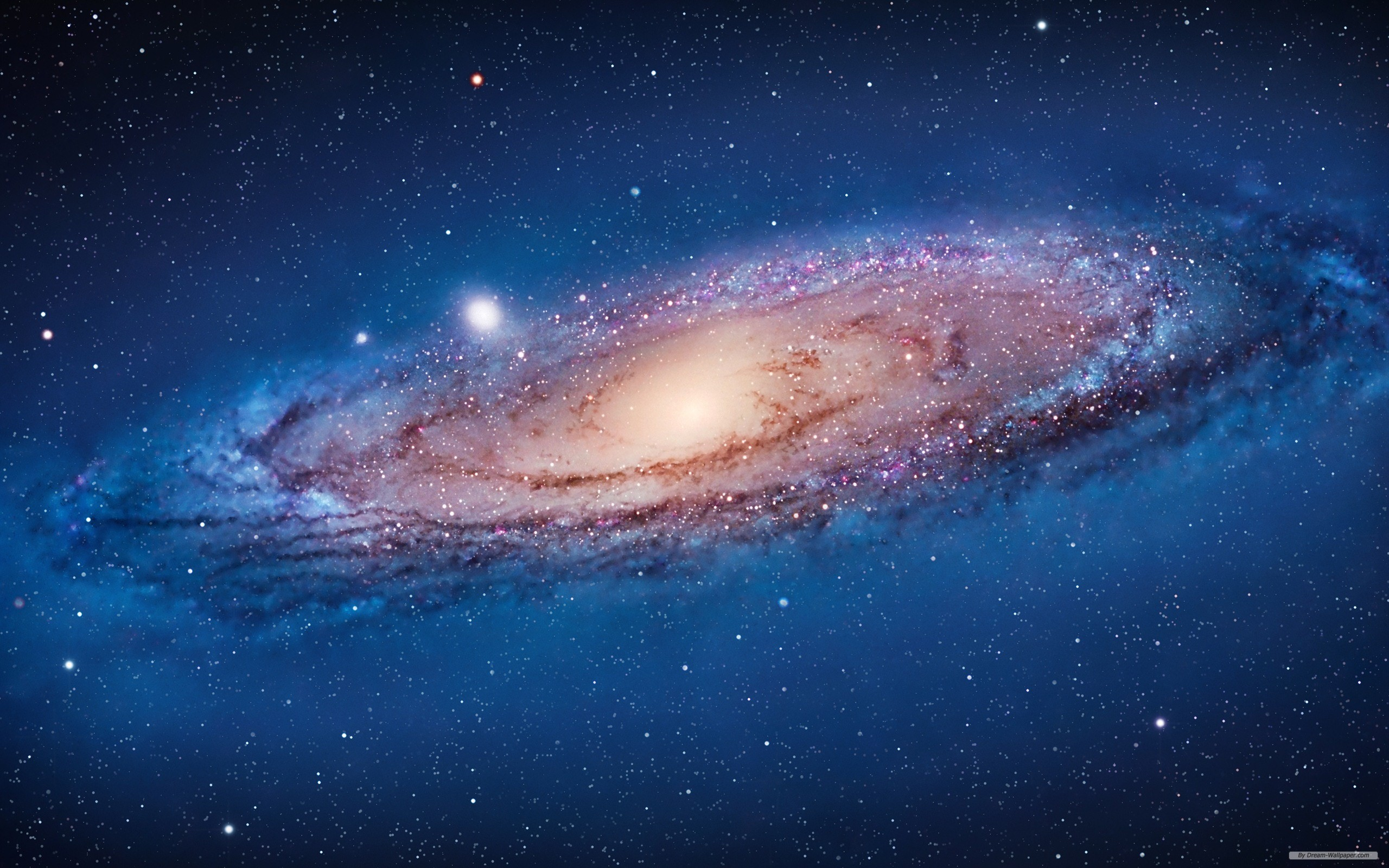 Amazing Apple Galaxy Wallpaper 2560x1600px