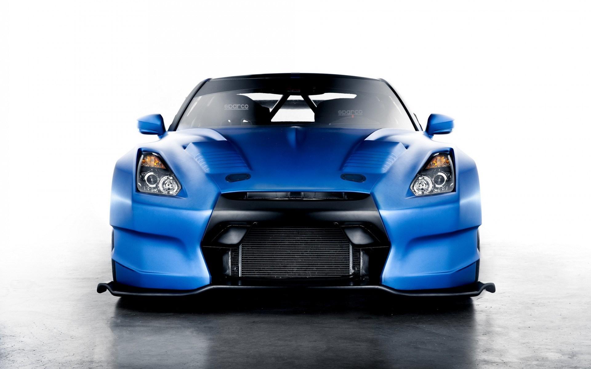 Amazing Blue Car Wallpaper
