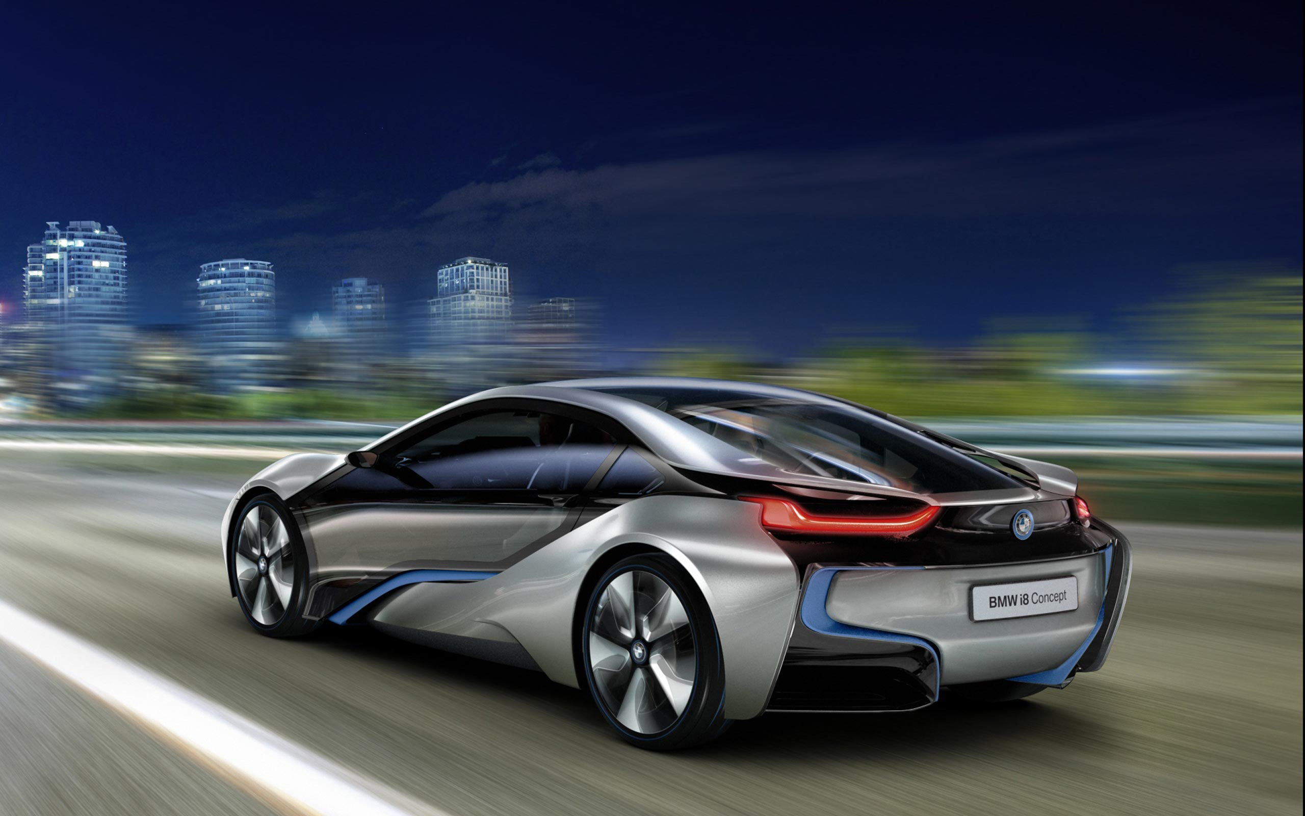 Amazing BMW i8 Wallpaper