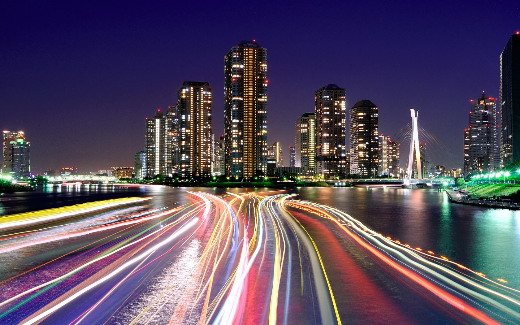 City Lights Wallpaper 24313