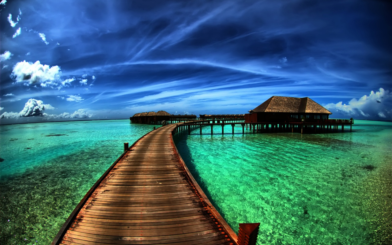 ... 1280x800 Amazing Sea Resort Desktop Pc And Mac Wallpaper Amazing Sea Resort ...