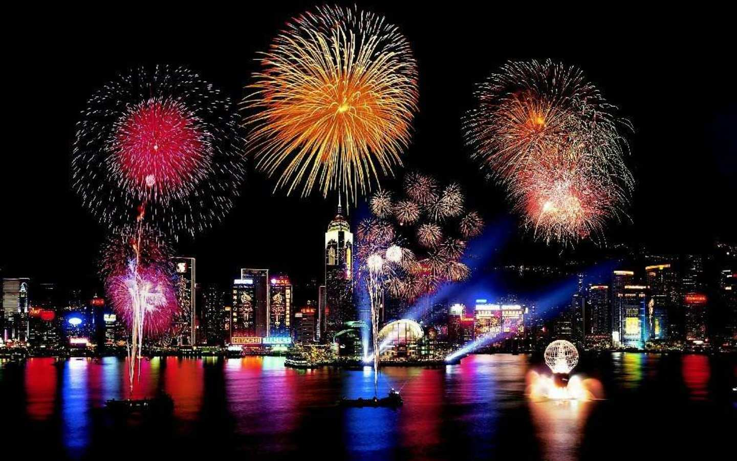 Amazing Fireworks Wallpaper
