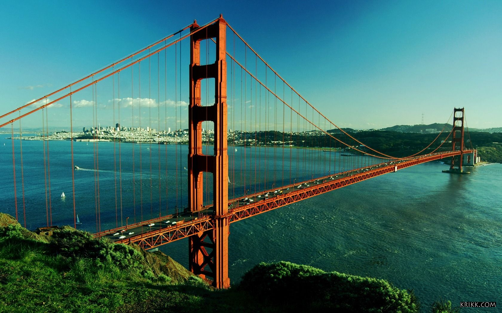 Fascinating Wallpaper Golden Gate Bridge 1680x1050px