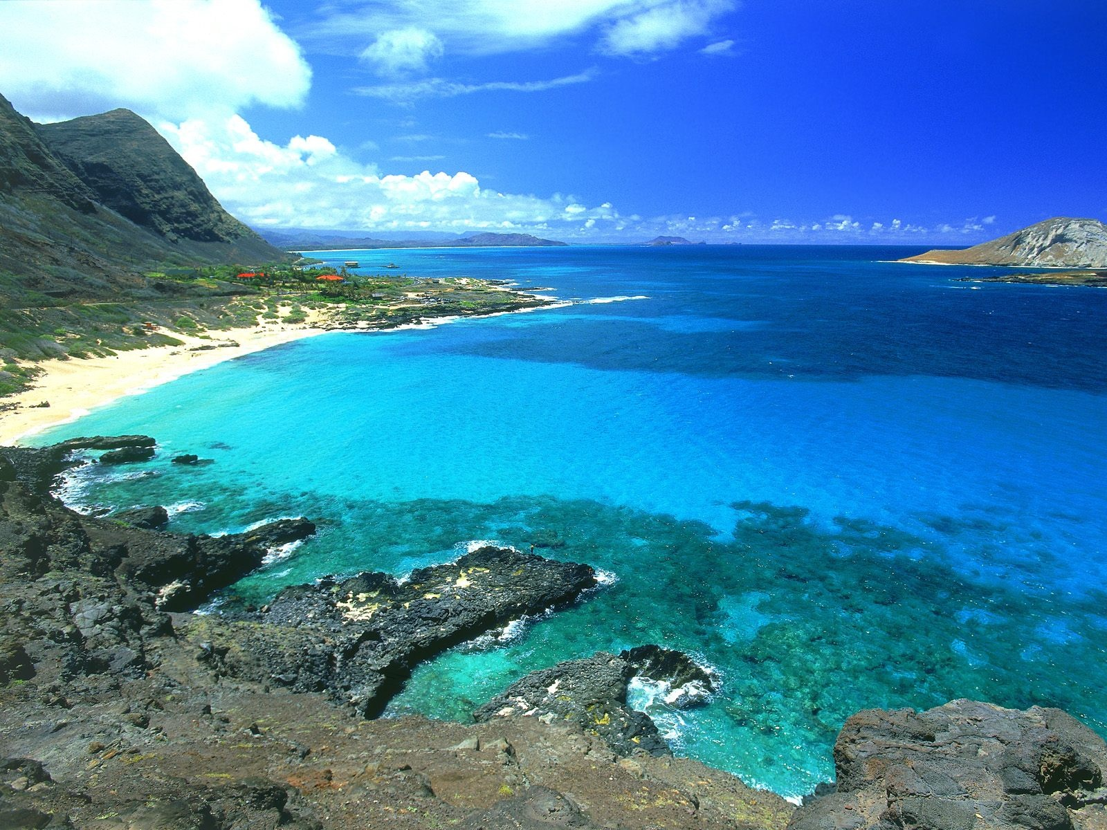 HD Wallpapers Beach Beautiful - Amazing Makapuu Hawaii