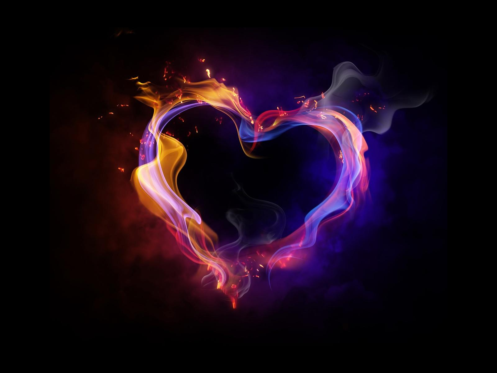 Amazing Heart Background
