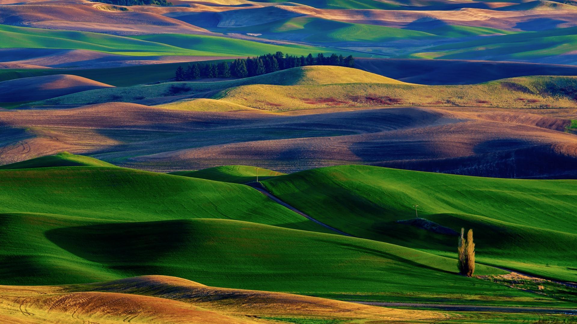 Amazing Hills Wallpaper