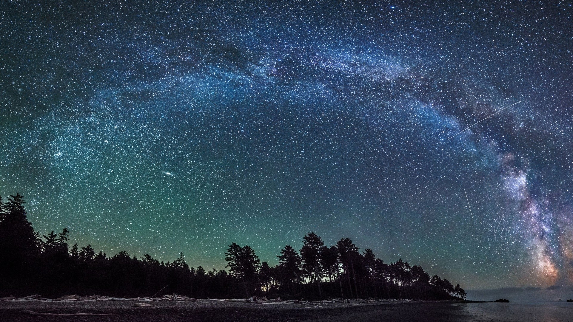 Amazing Milky Way Wallpaper