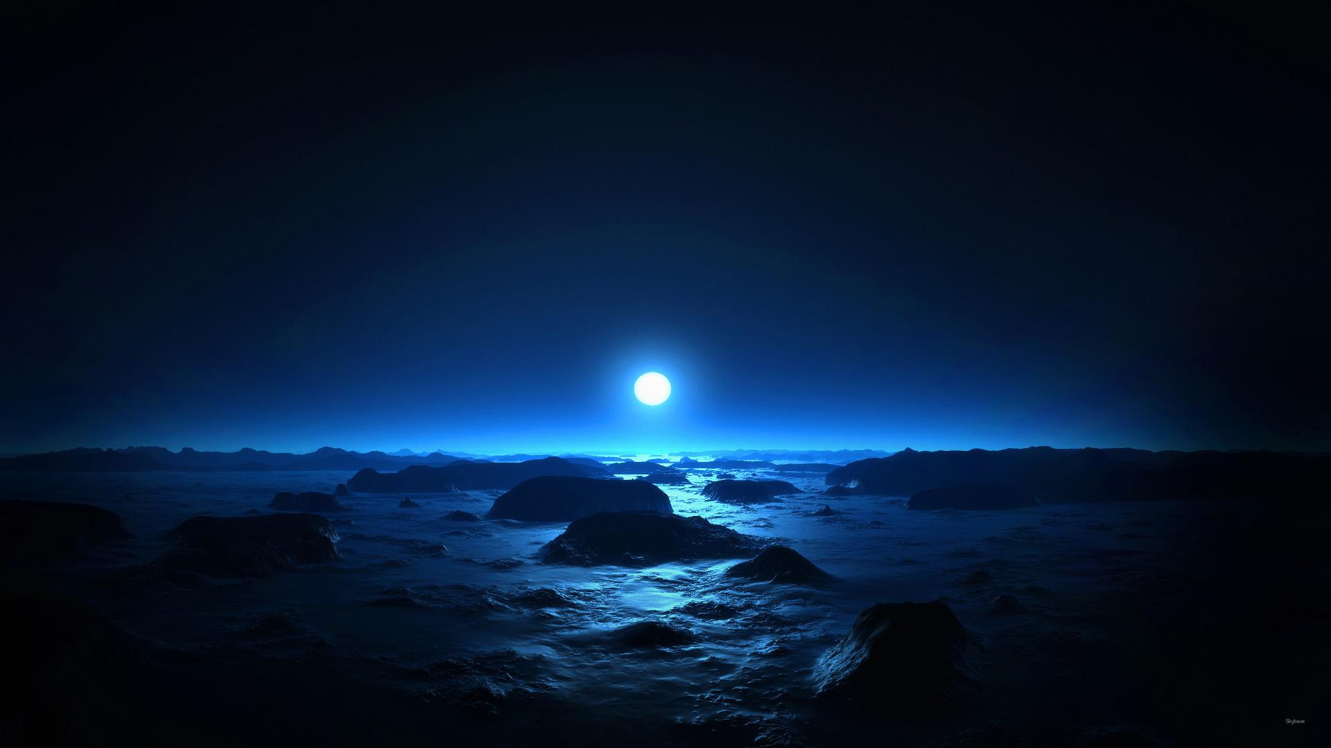 Amazing Moonlight Wallpaper