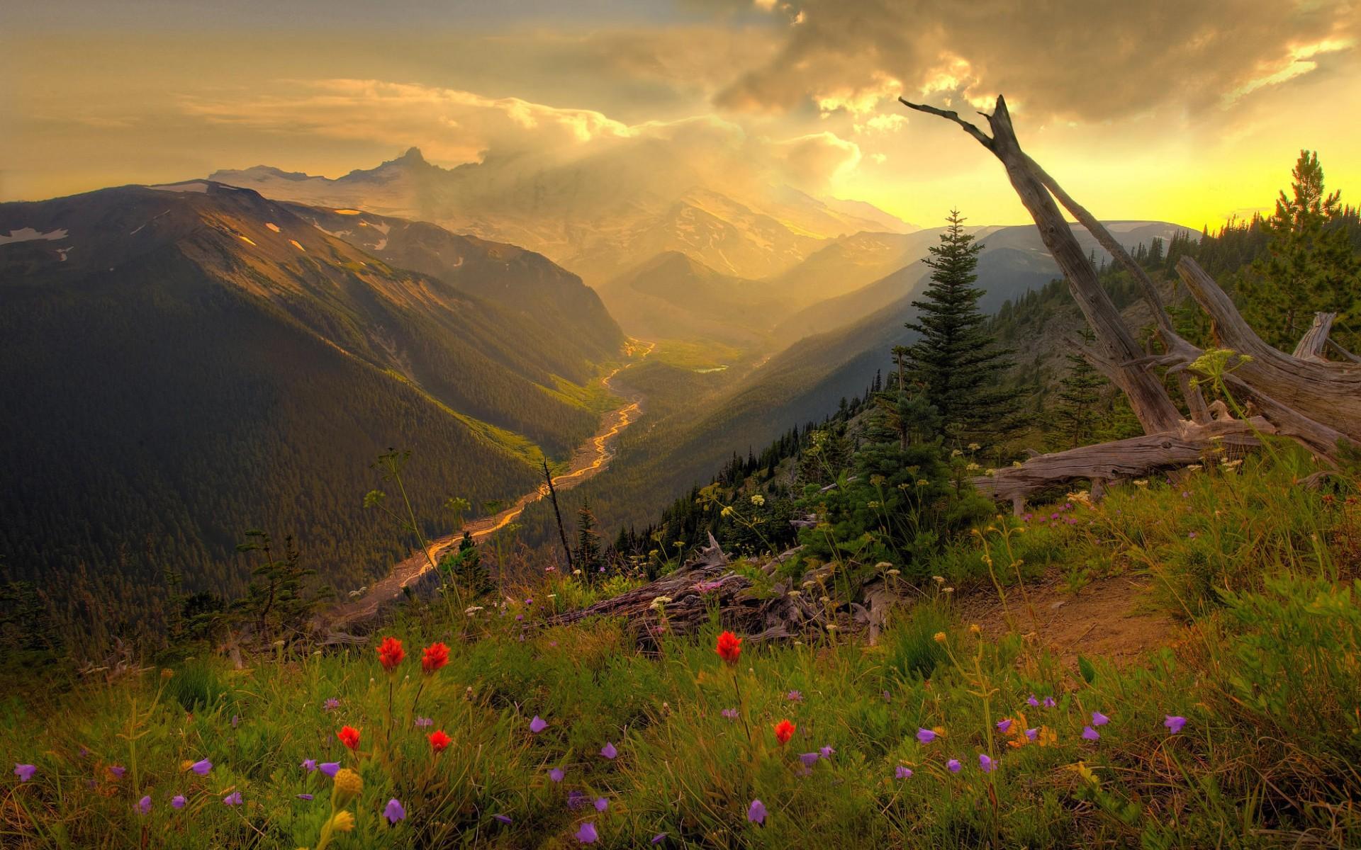 Amazing Mountain Scenery