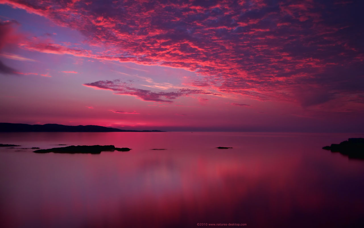 Amazing Pink Sunset
