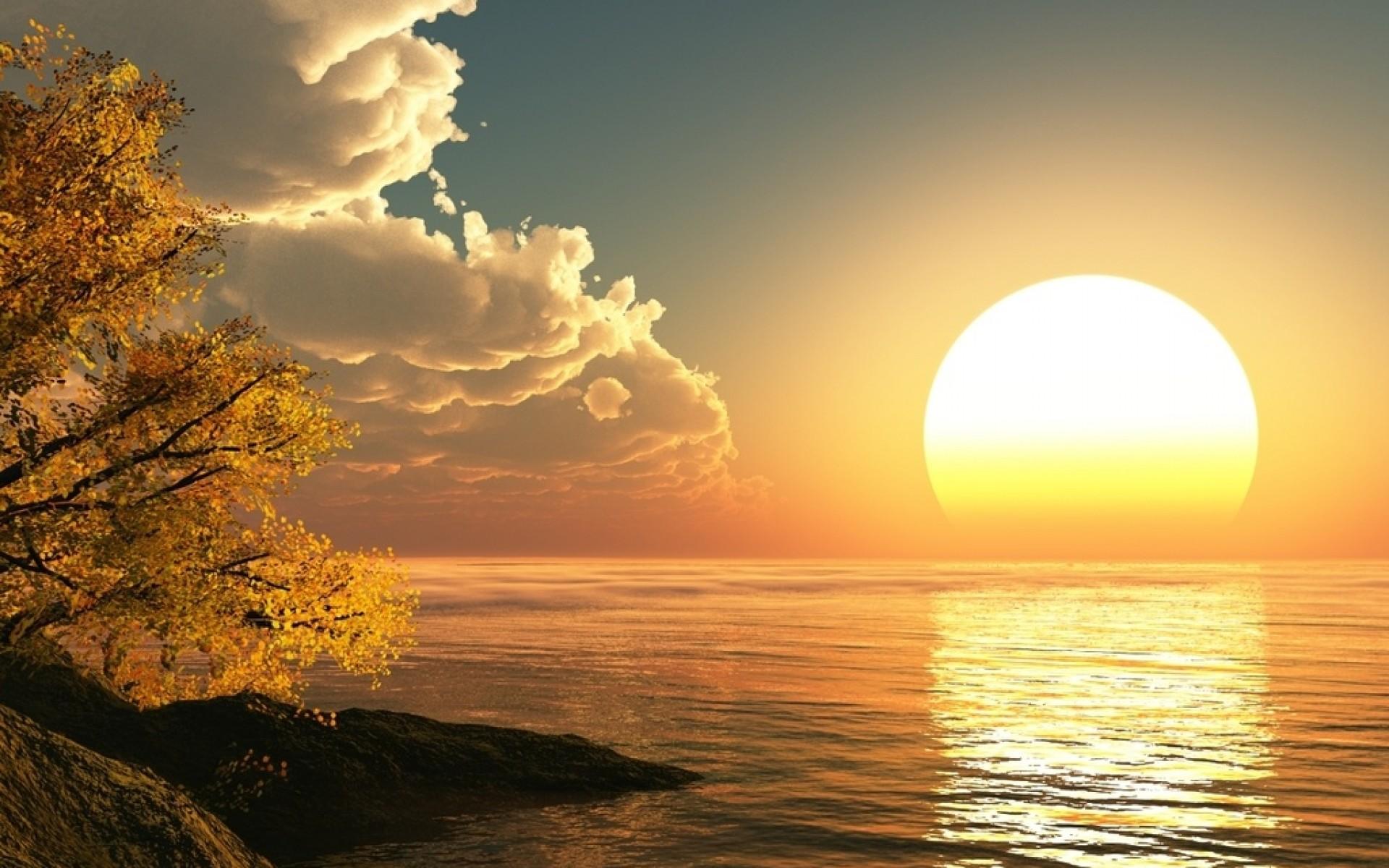 Amazing Sun Wallpaper
