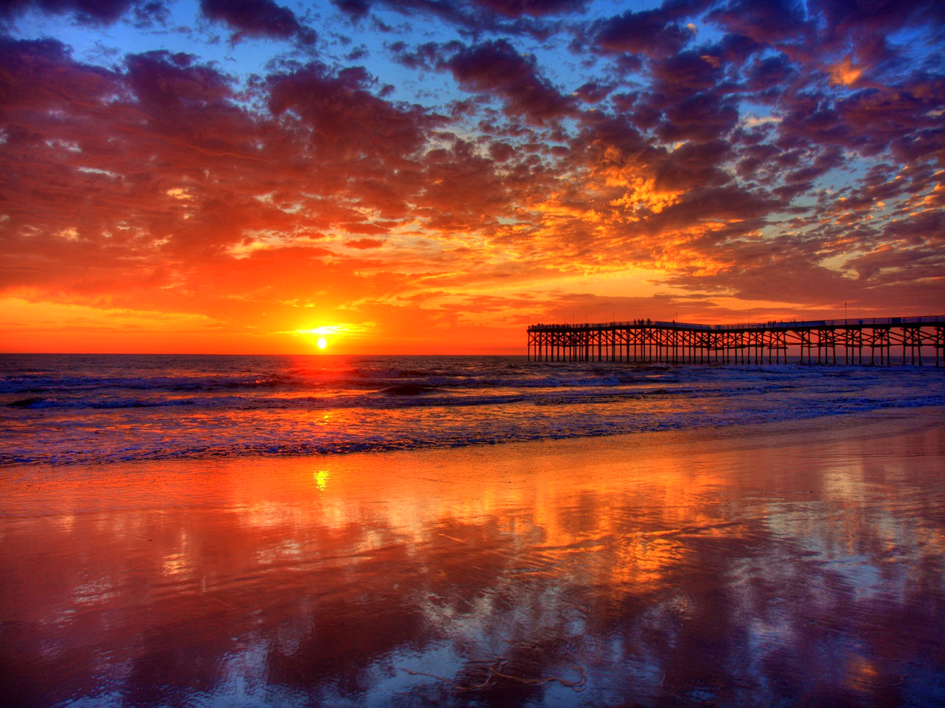 Amazing Sunset HD wallpapers