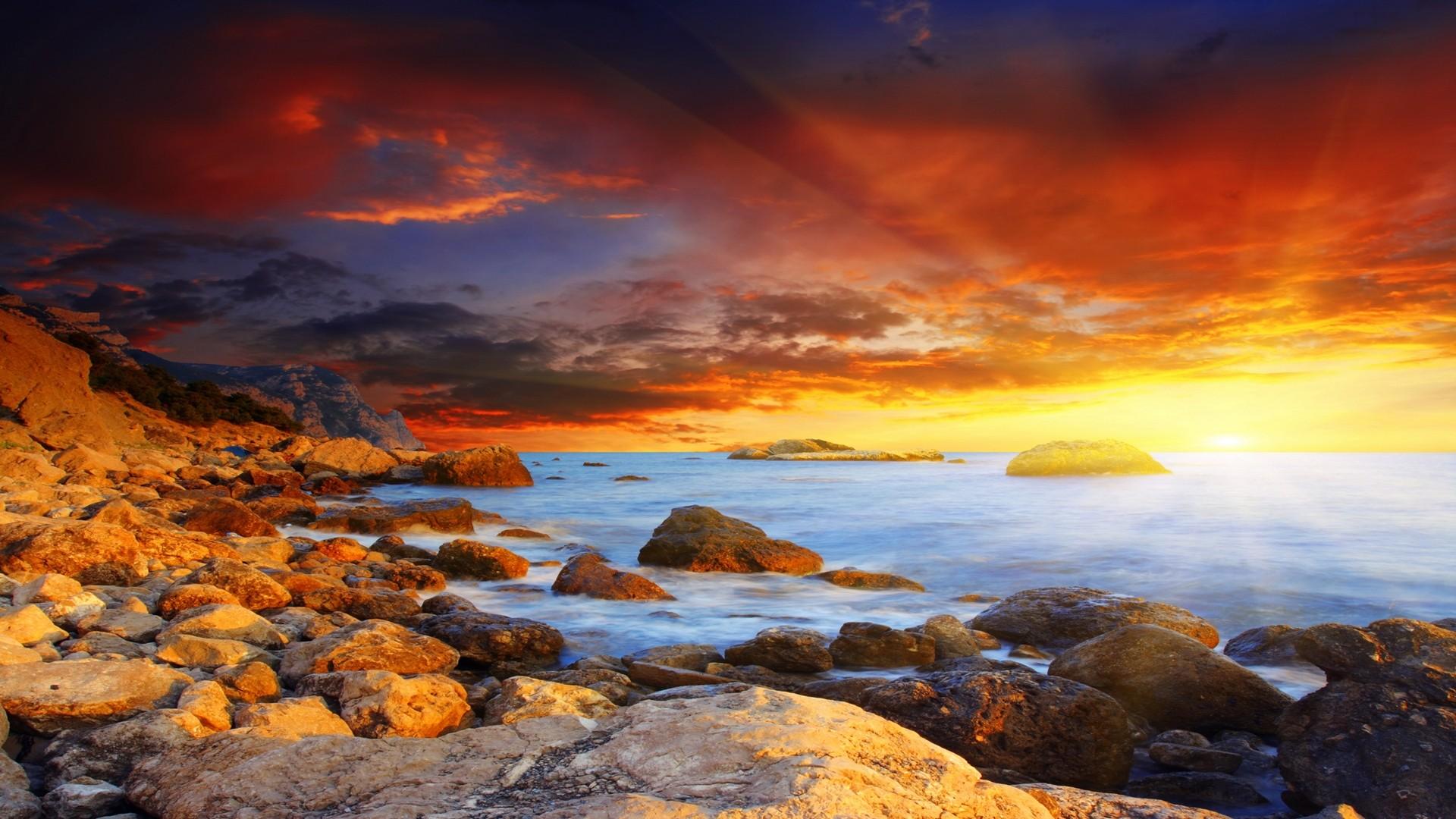 1920x1080 wallpaper amazing sunset - photo #1