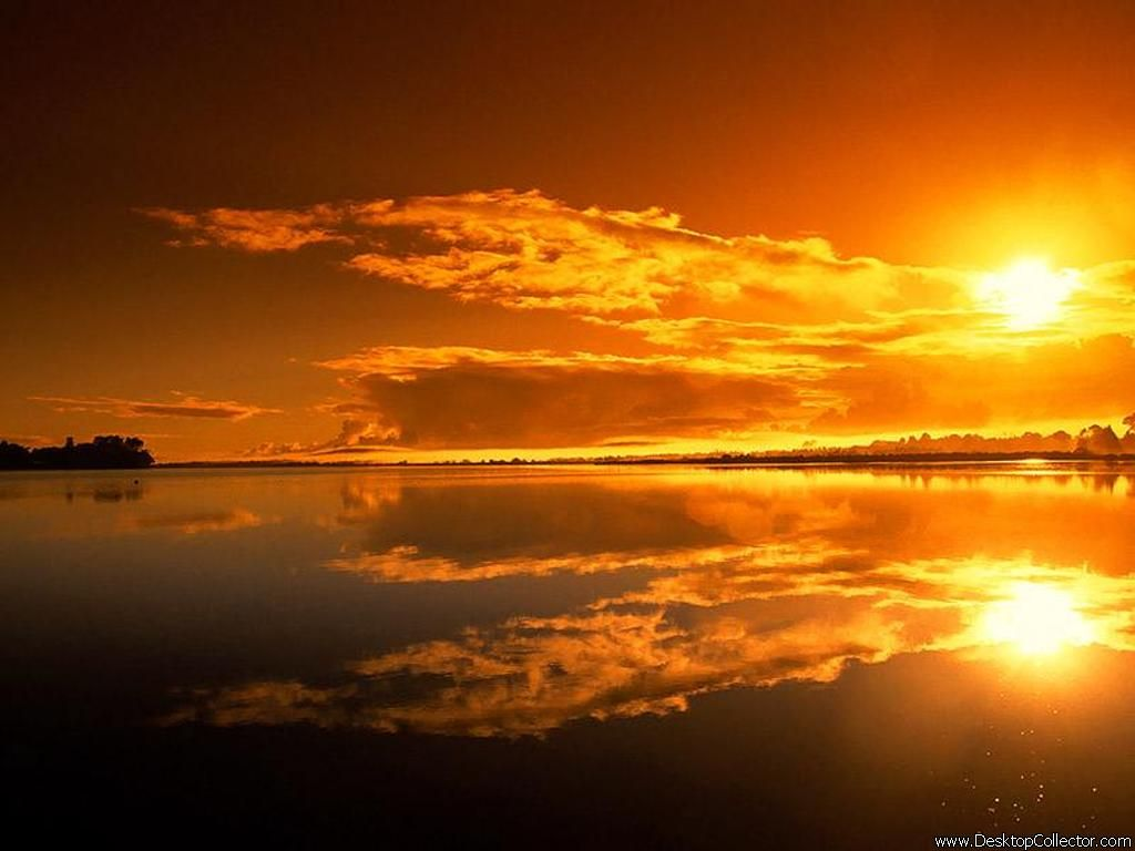 Amazing Sunset Wallpaper