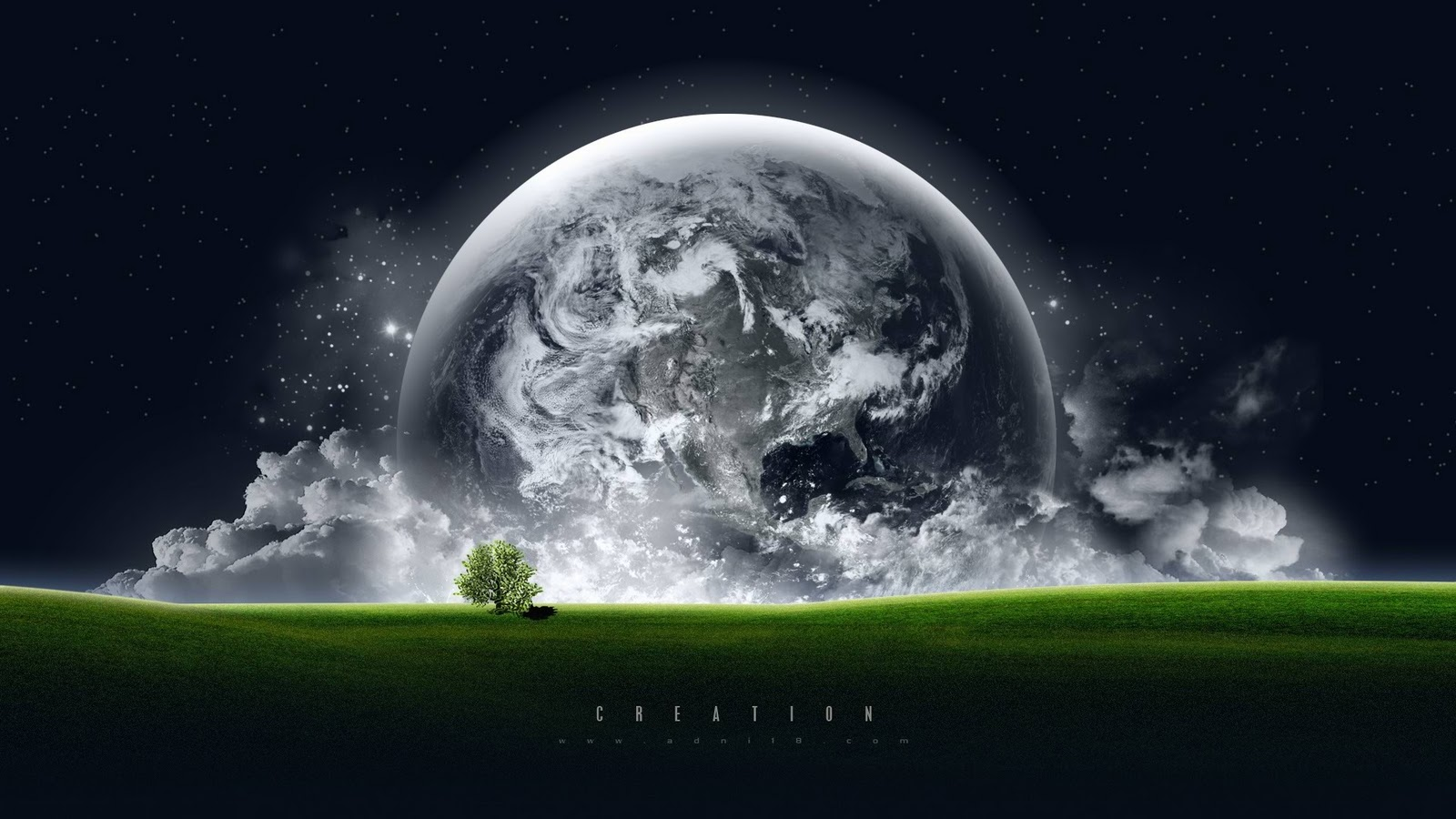 Art Amazing Earth Wallpaper Hd Background Download