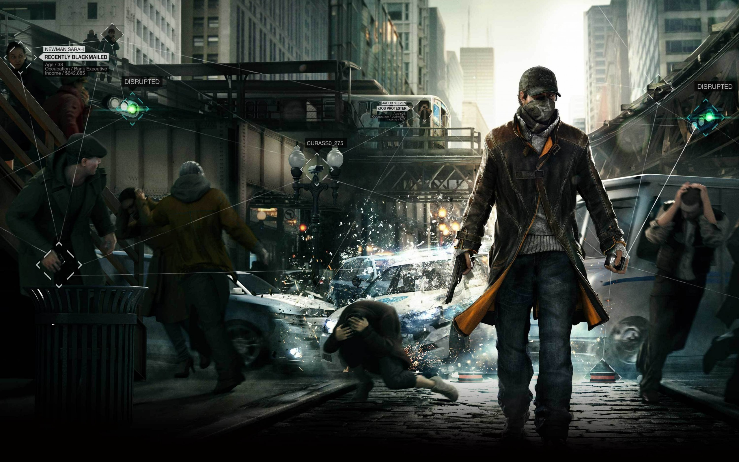 HD Wallpaper | Background ID:415518. 2560x1600 Video Game Watch Dogs