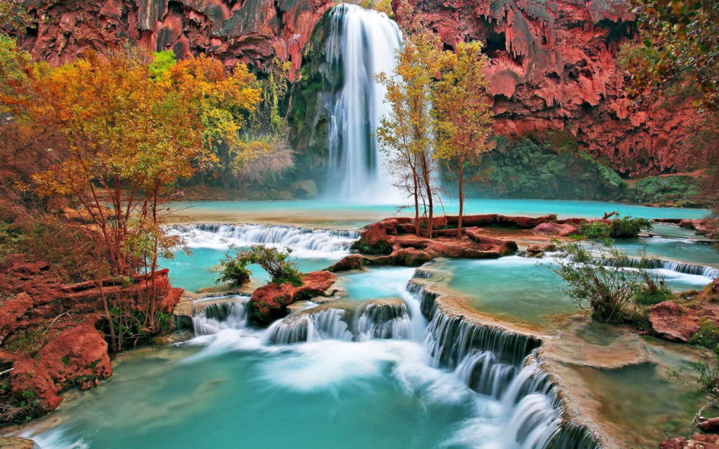 Amazing Waterfall Wallpaper