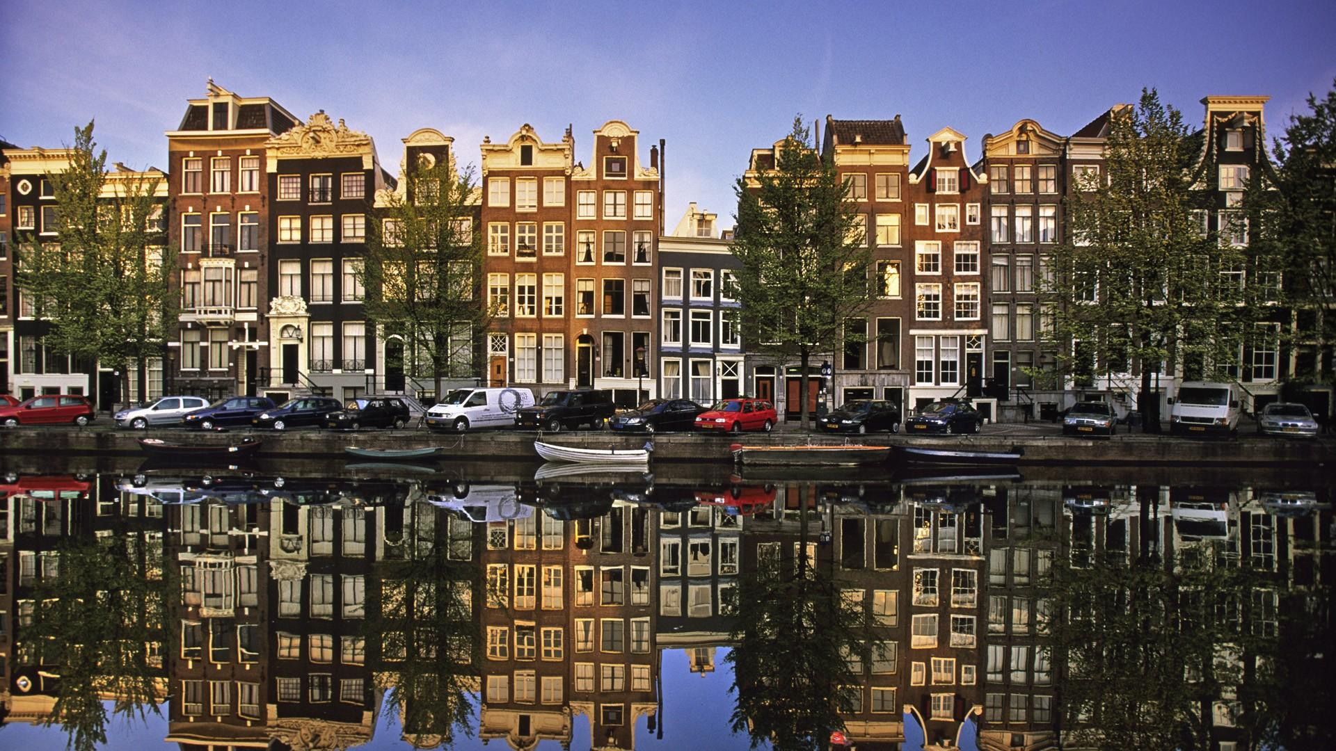 beautiful amsterdam wide hd wallpaper