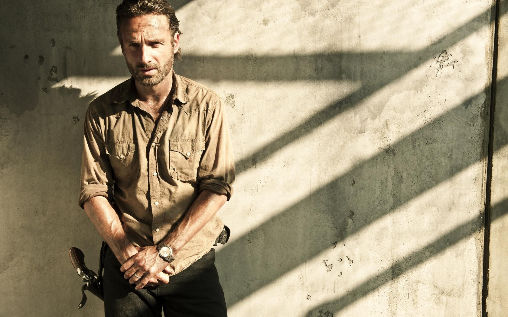 Andrew Lincoln Walking Dead Wallpaper