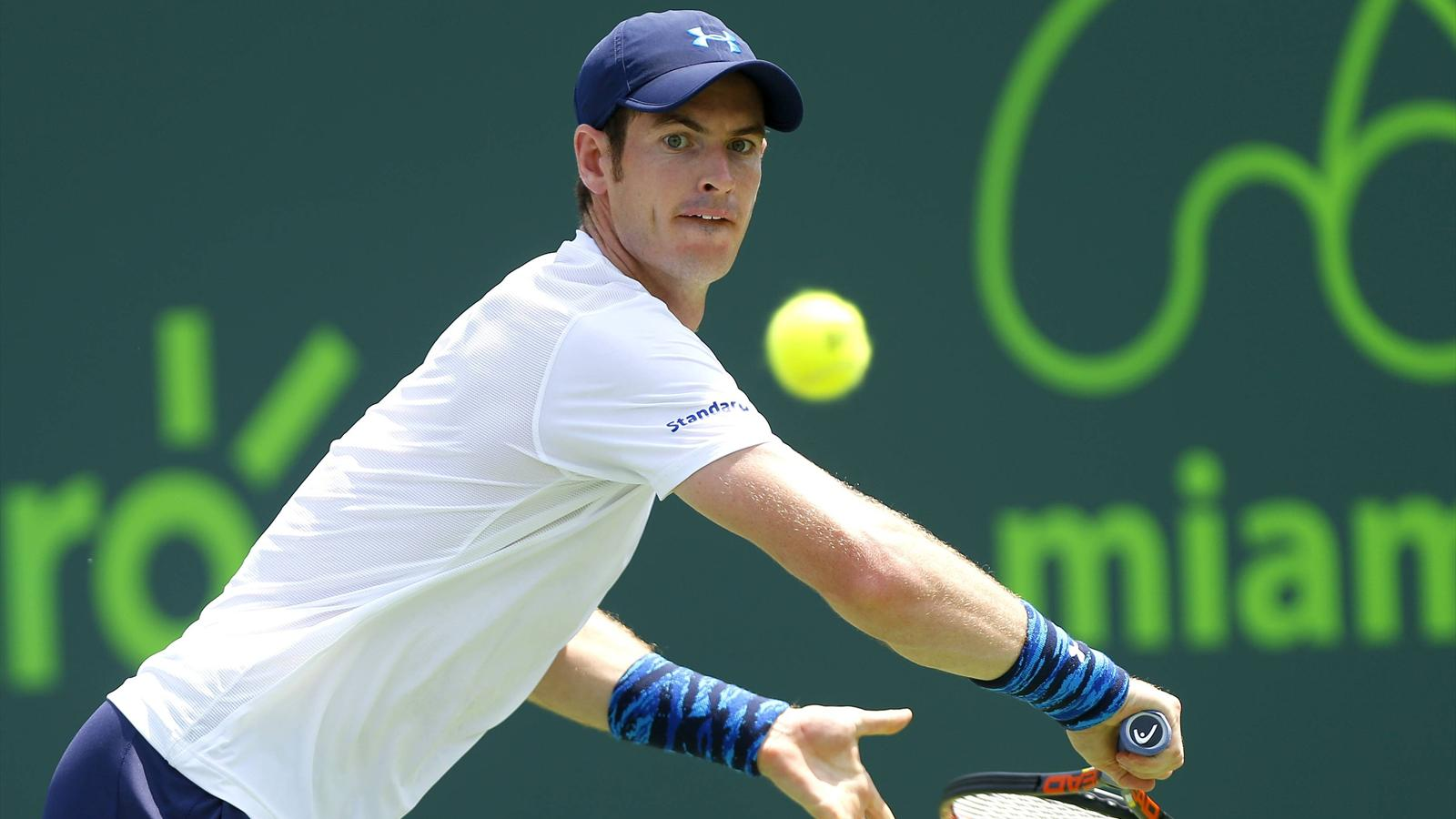 Andy Murray overcomes wobble to win at Miami Masters - Tennis - Eurosport