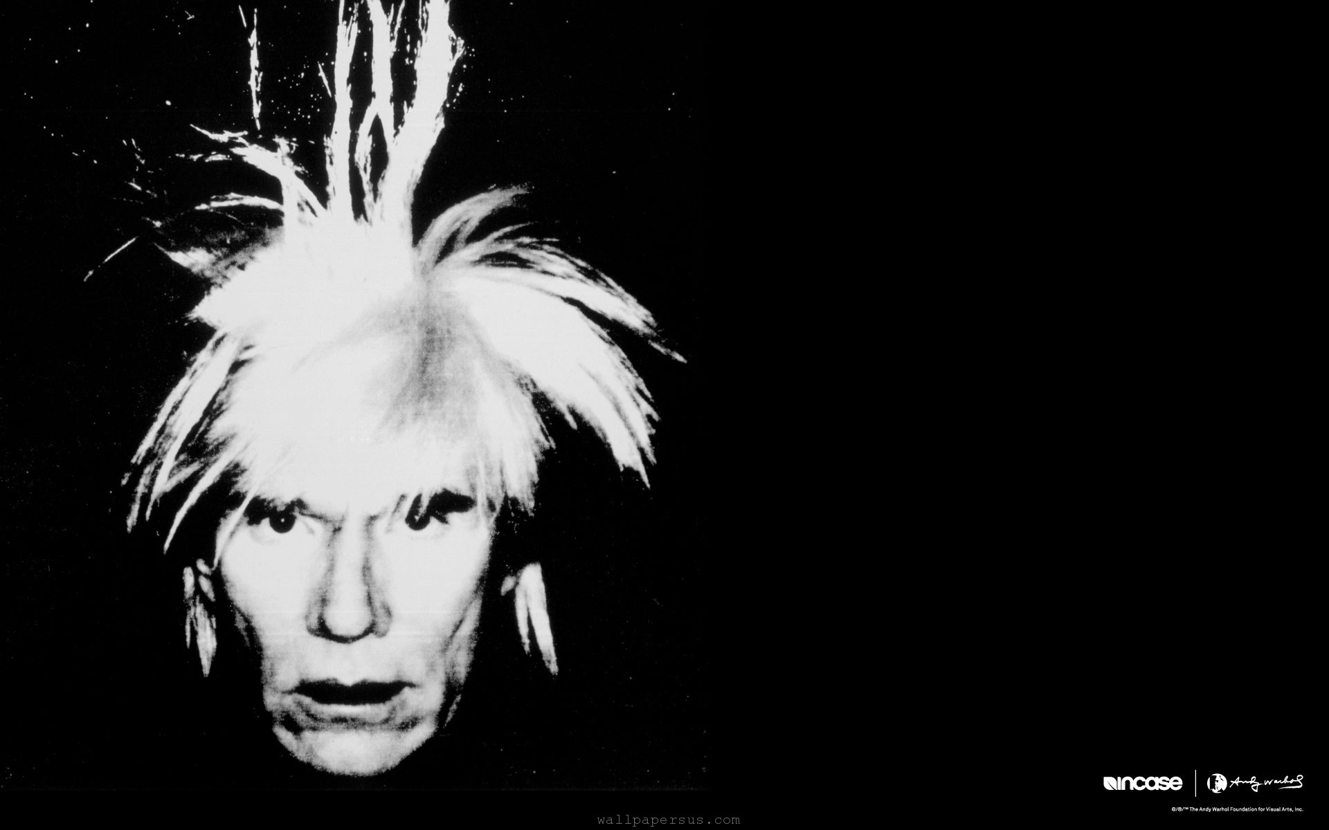 HD Wallpaper of Portrait Grayscale Andy Warhol Incase, Desktop Wallpaper Portrait Grayscale Andy Warhol Incase