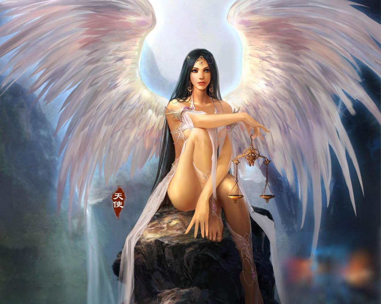 HD Wallpaper | Background ID:151275. 1280x1024 Fantasy Angel