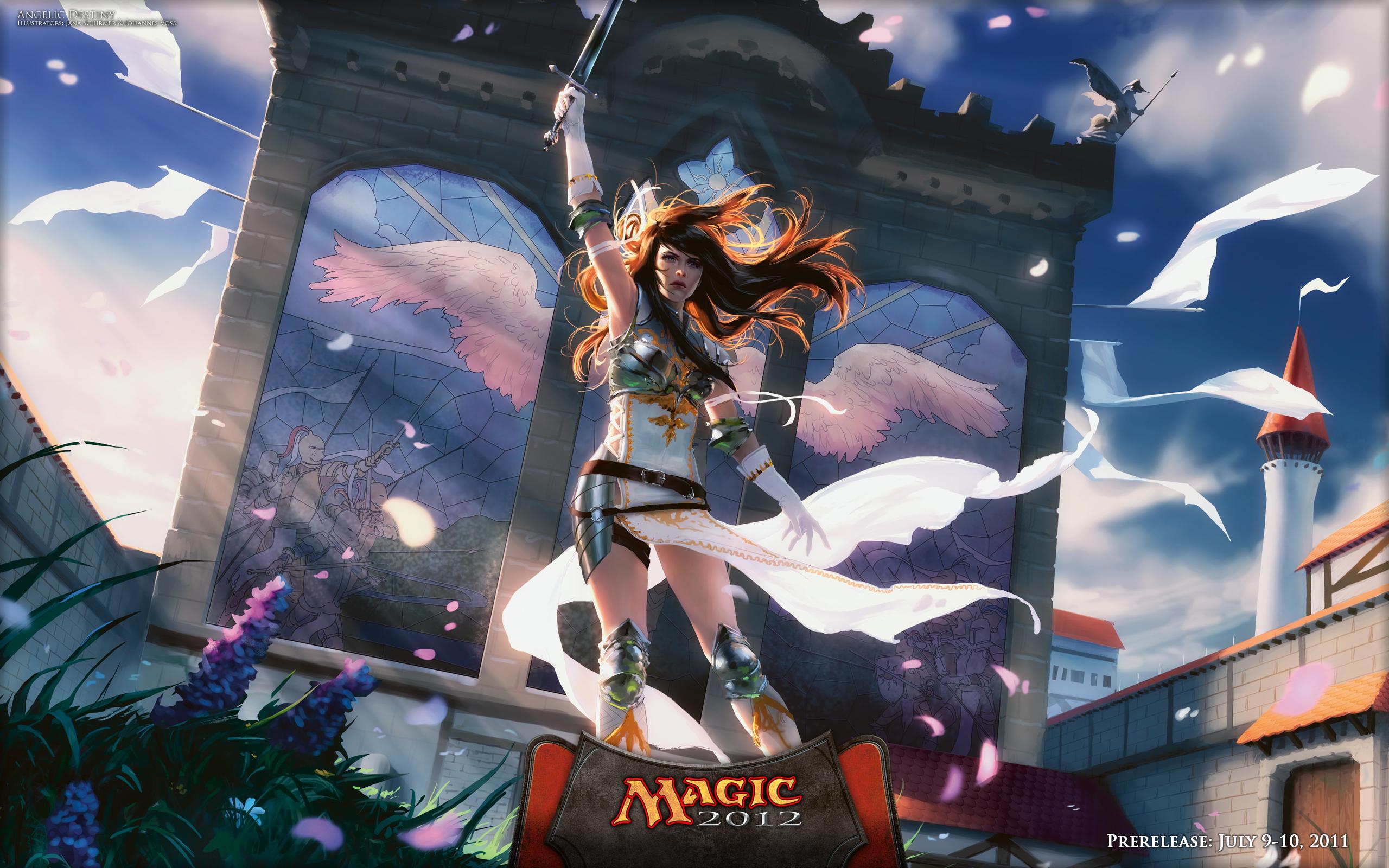 Angelic destiny magic the gathering