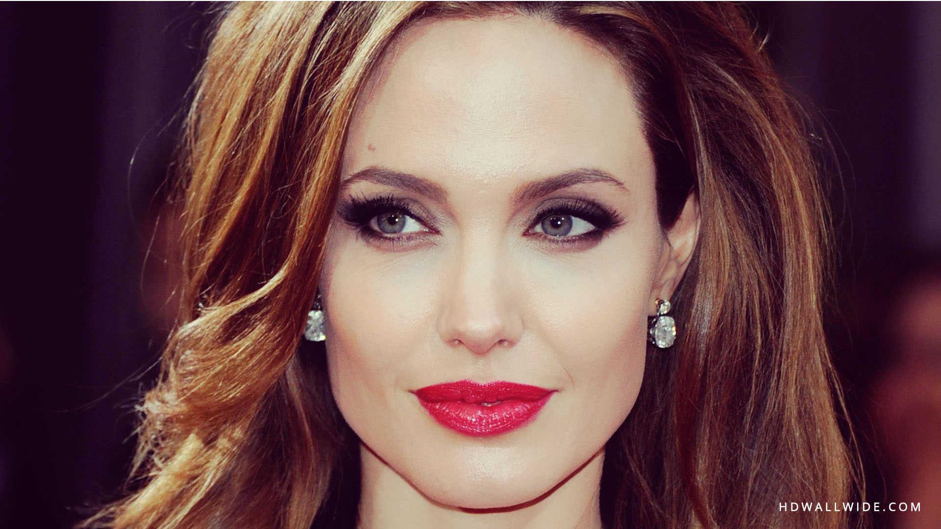 Download Angelina Jolie Red Lips Hd Wallpaper Hdwallwide 1920x1080px