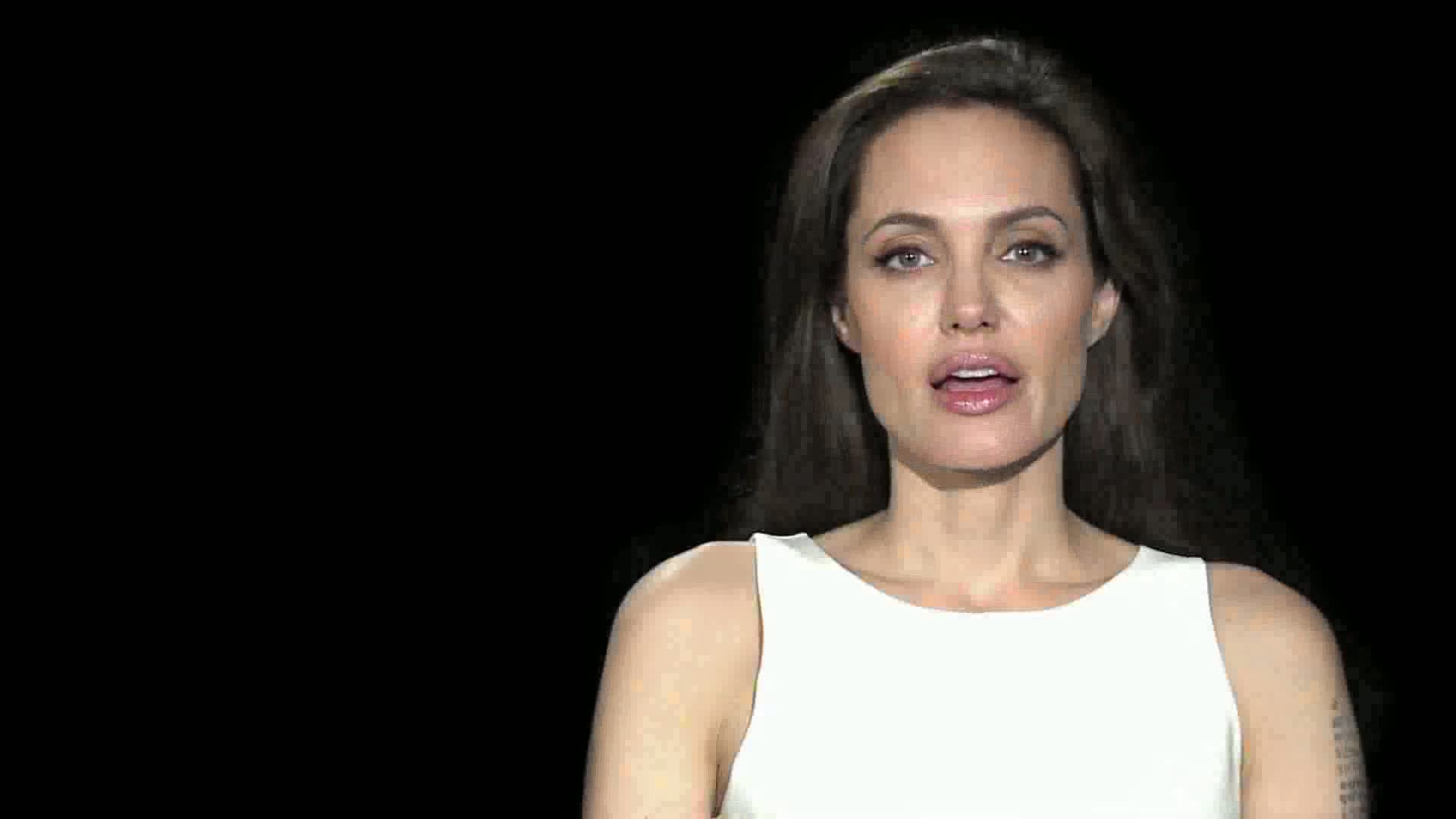 Angelina Jolie WRD 2011 message ...
