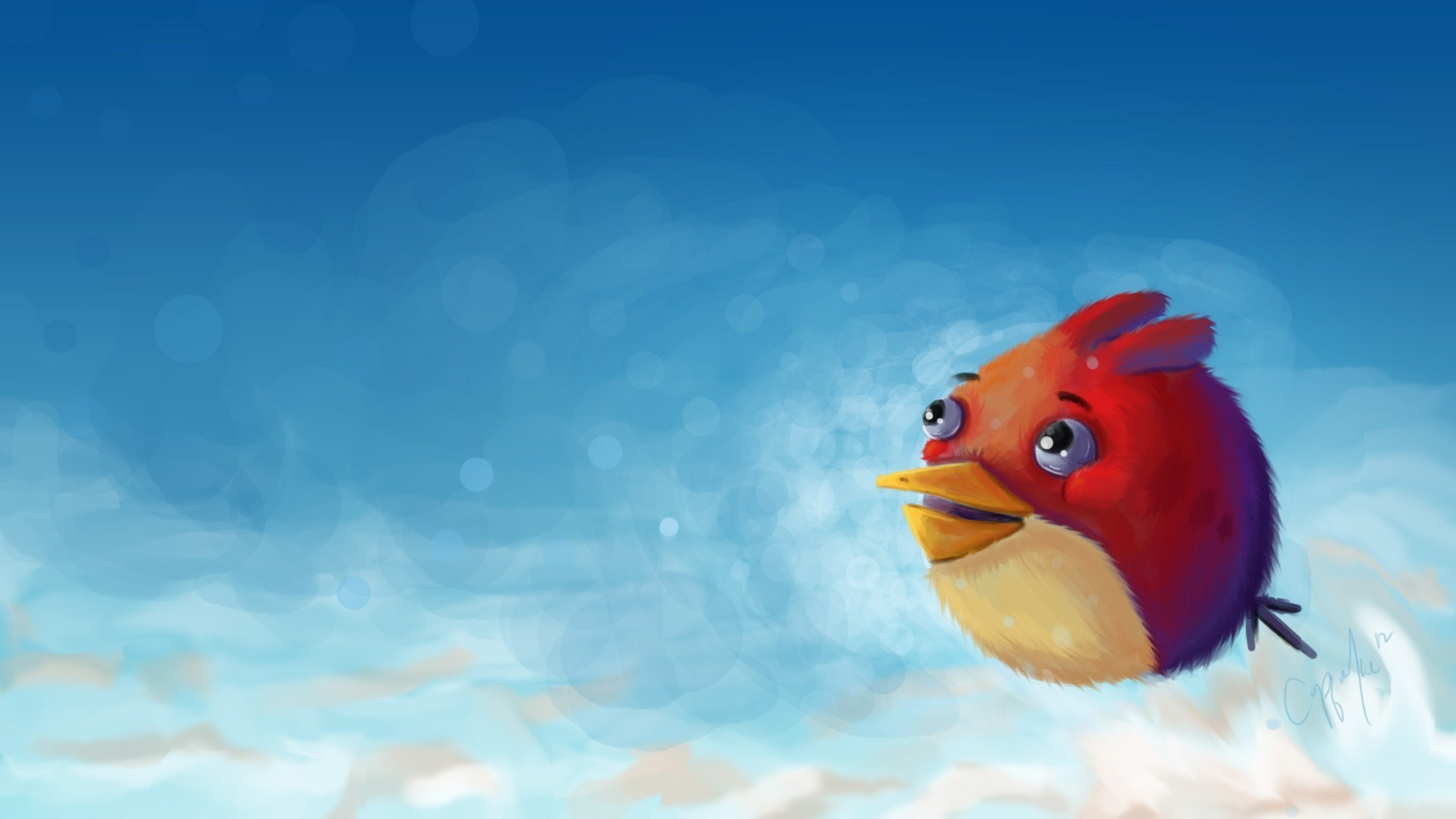 Angry Bird Artwork