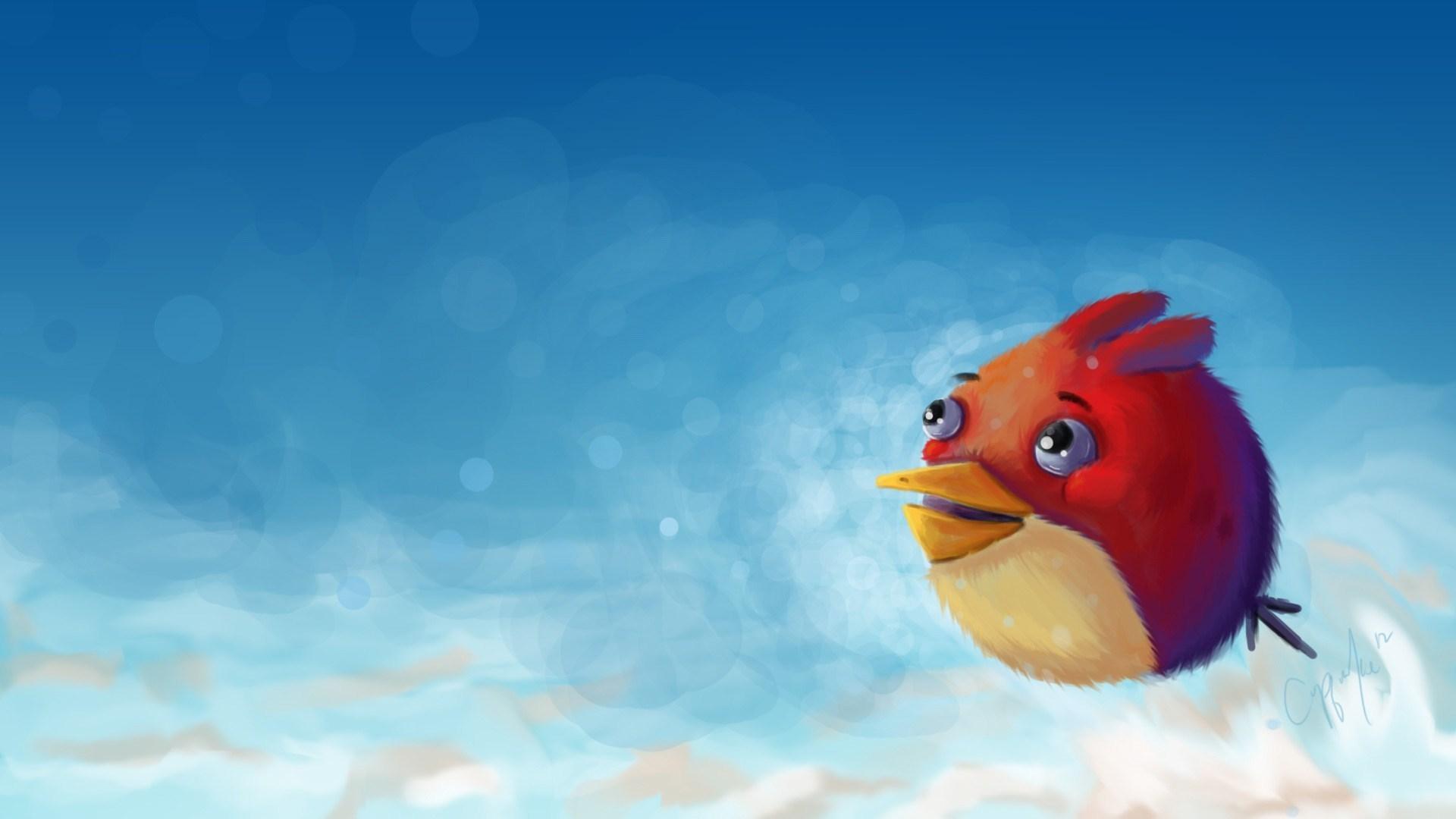 Angry Bird Artwork