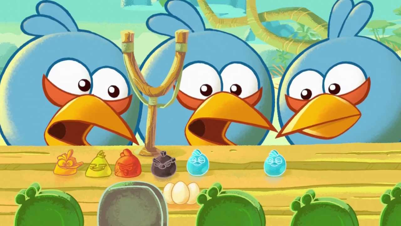 Fazer Angry Birds sweets TV-film 2012