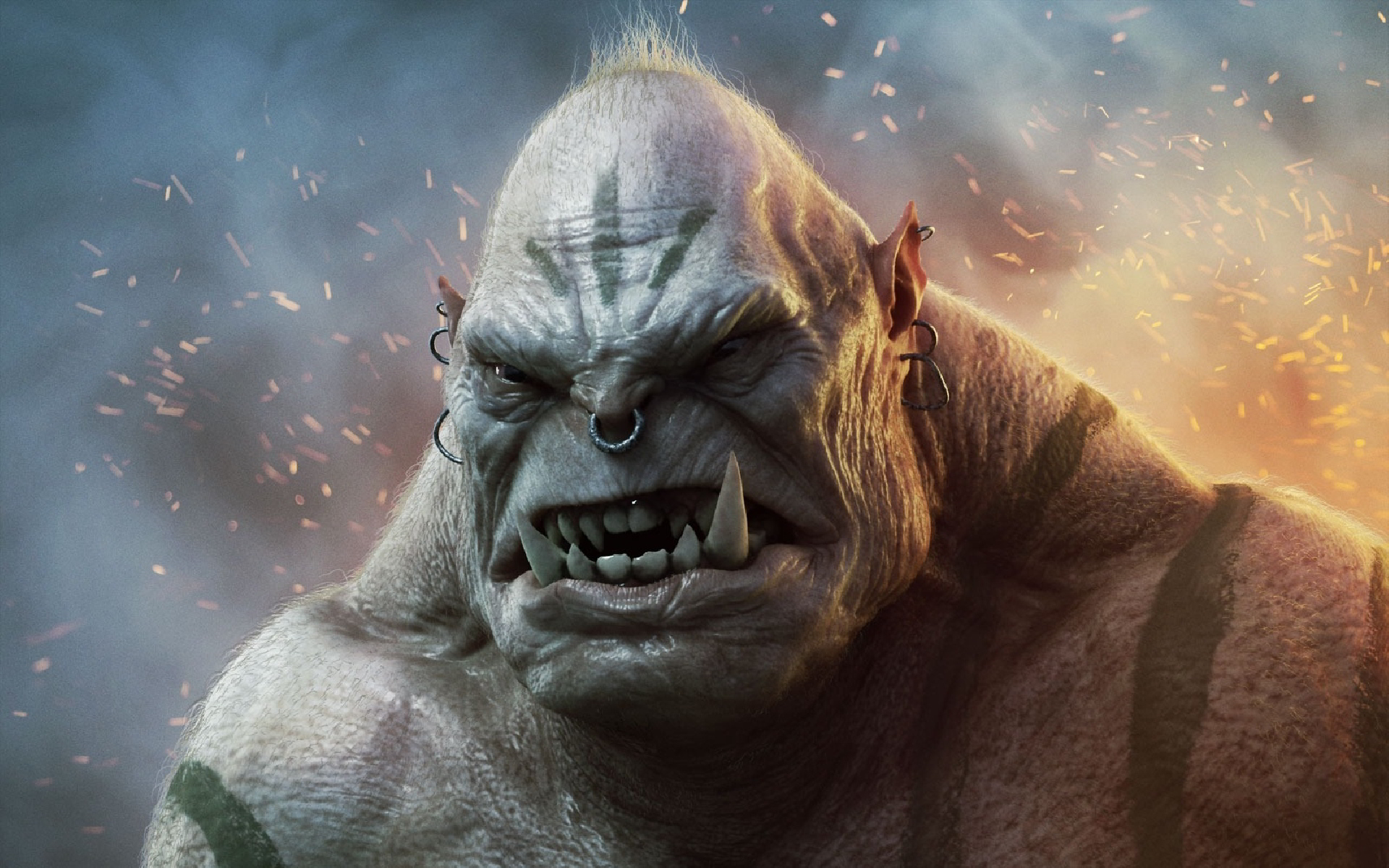 Angry Orc Art