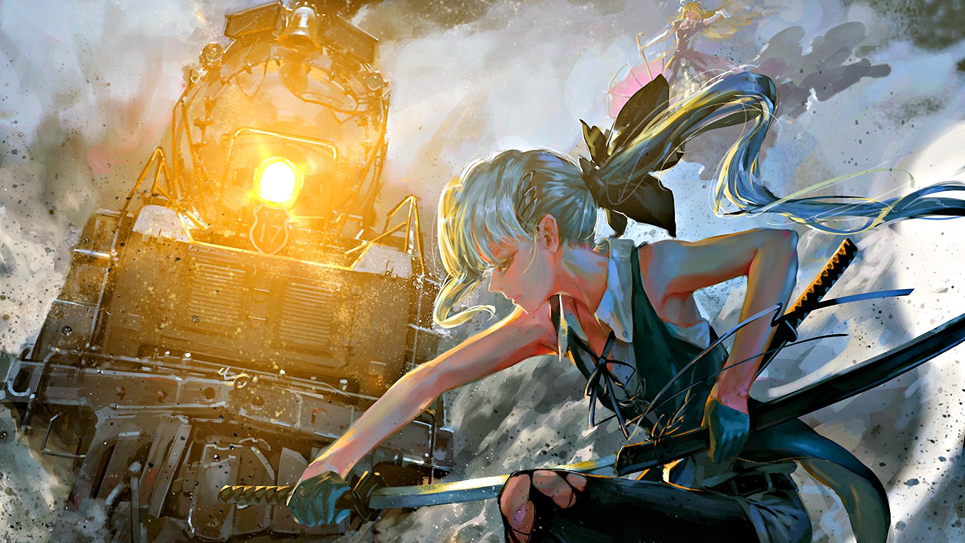 Anime fantasy war line