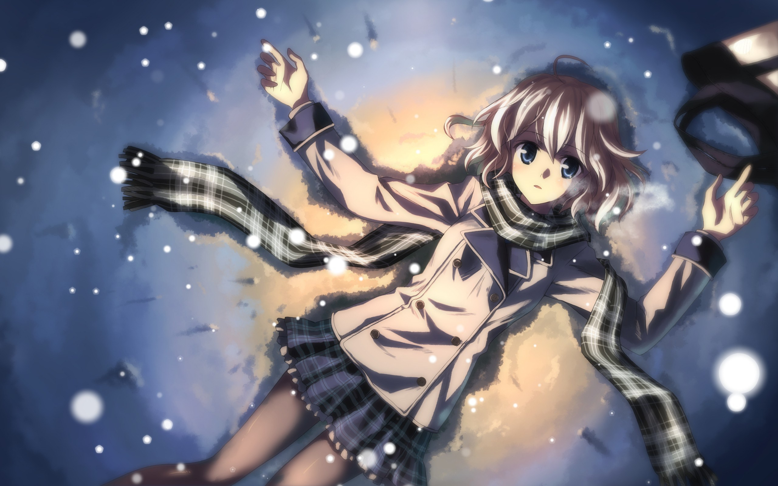 Anime Winter Wallpaper