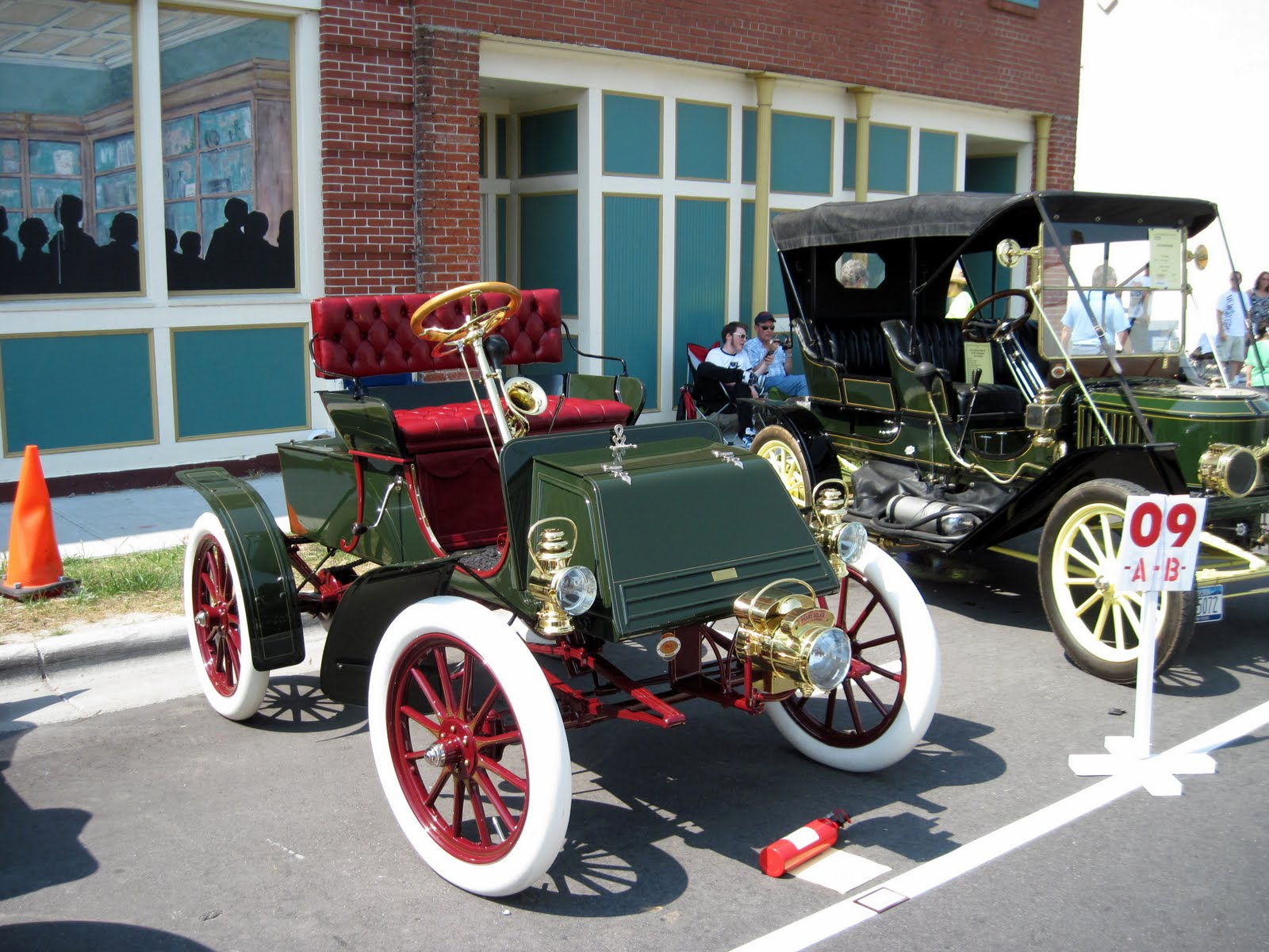 antique car history