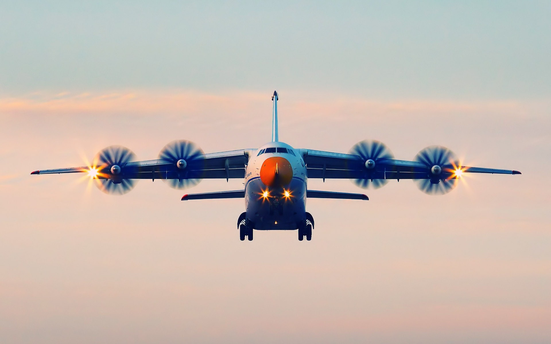 Antonov An-70 Four Engine Transport Aircraft Photo