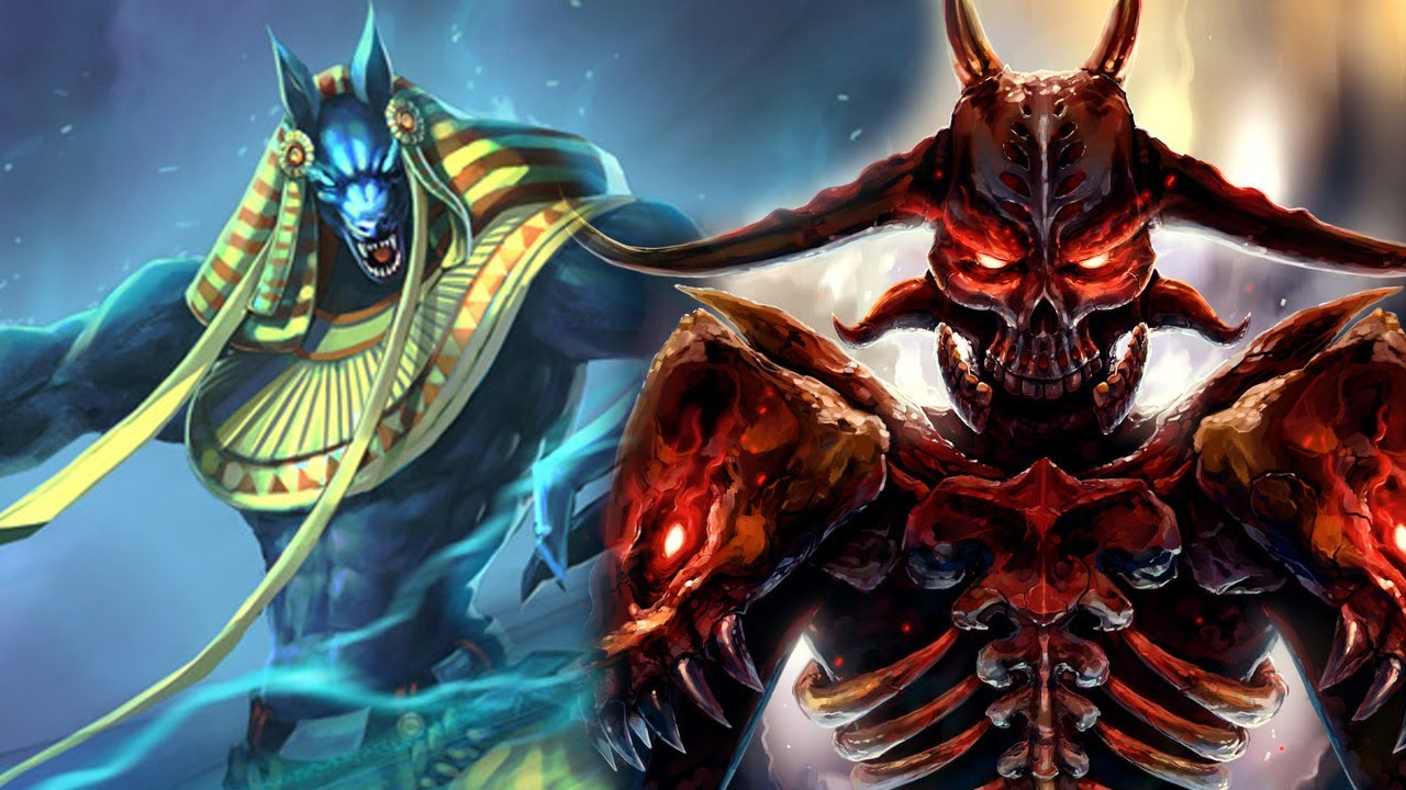 Anubis VS Hades (Audio/Demo)