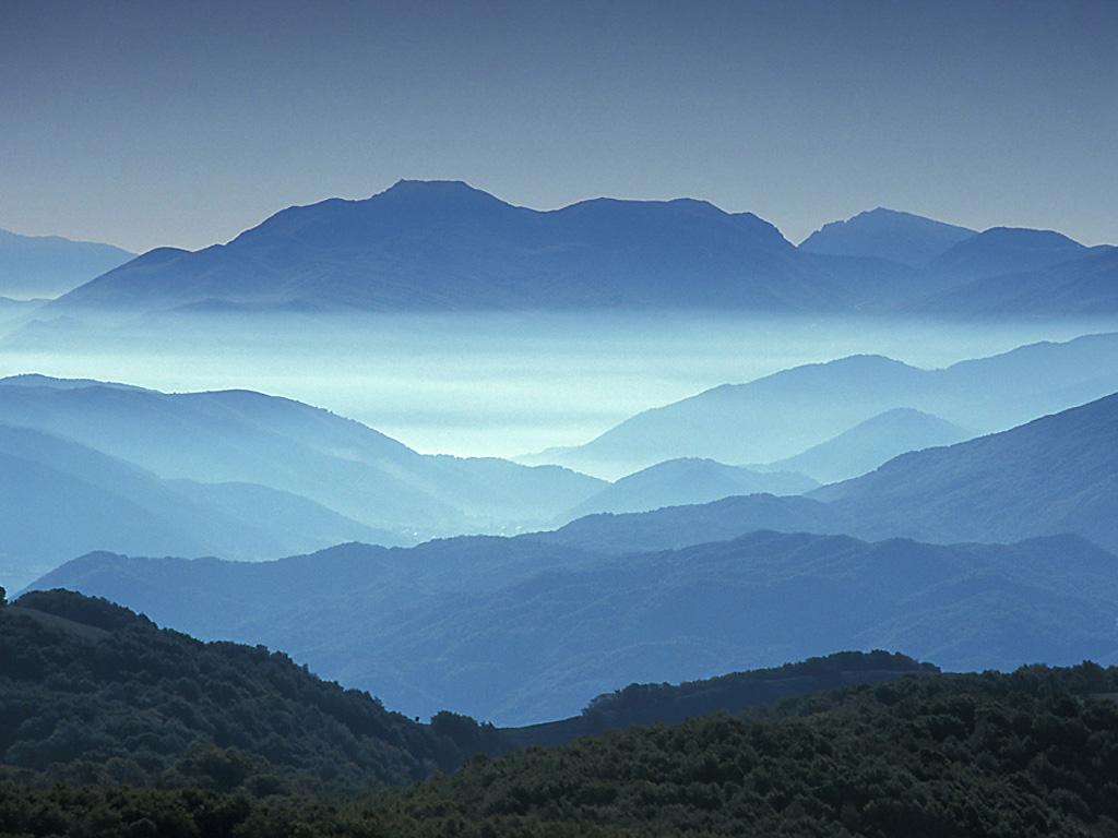Apennine mountains  italy