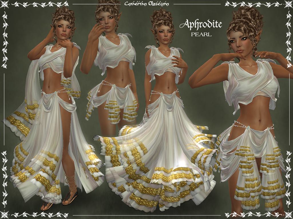 Aphrodite Outfit ~PEARL~ by Caverna Obscura